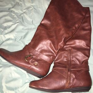 Shoes - Rampage boots (from Belk) just below the knee